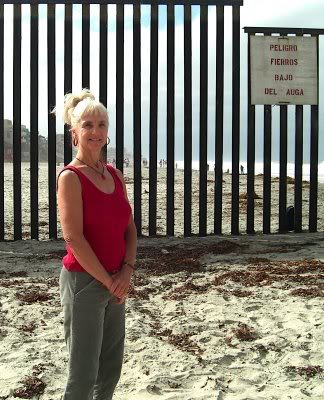 Anne at the Border