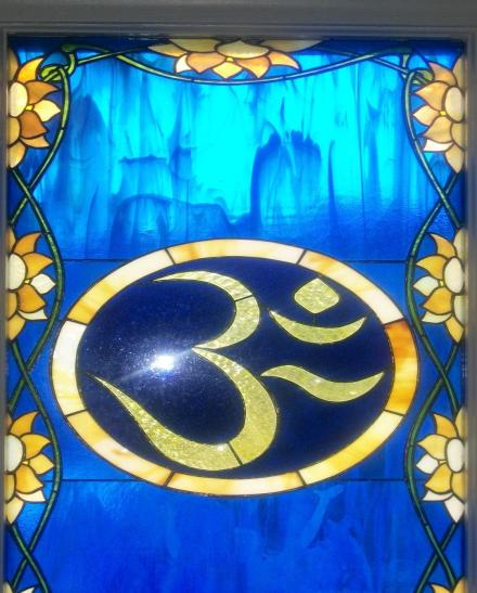 Stained Glass Aum