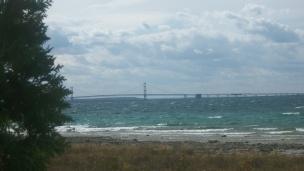 Famous Mackinac Bridge