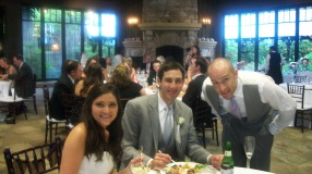 Bride Maggie, Groom Mark, Usher Dave