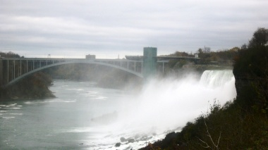 Rainbow Bridge and American Falls