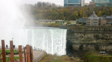 View into Canada