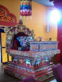 Lama Teaching Throne