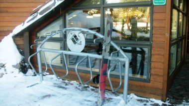 Library Snowboard Racks