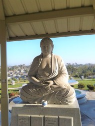 Buddhist Shrine at Greenwood Memorial
