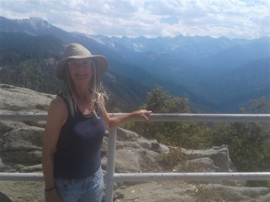 View of upper Sierras from Moro Rock